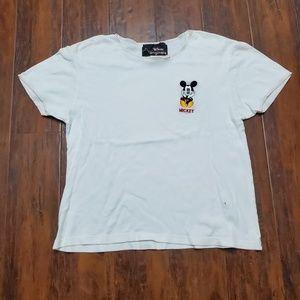 Rare Vintage 90s Disney Mickey Mouse T shirt
